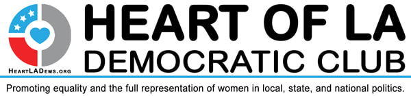 Heart of LA Democratic Club logo